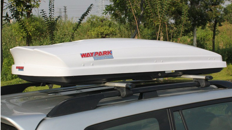 hot item 750l abs asa roof rack top carrier car cargo box travel storage luggage for suv car