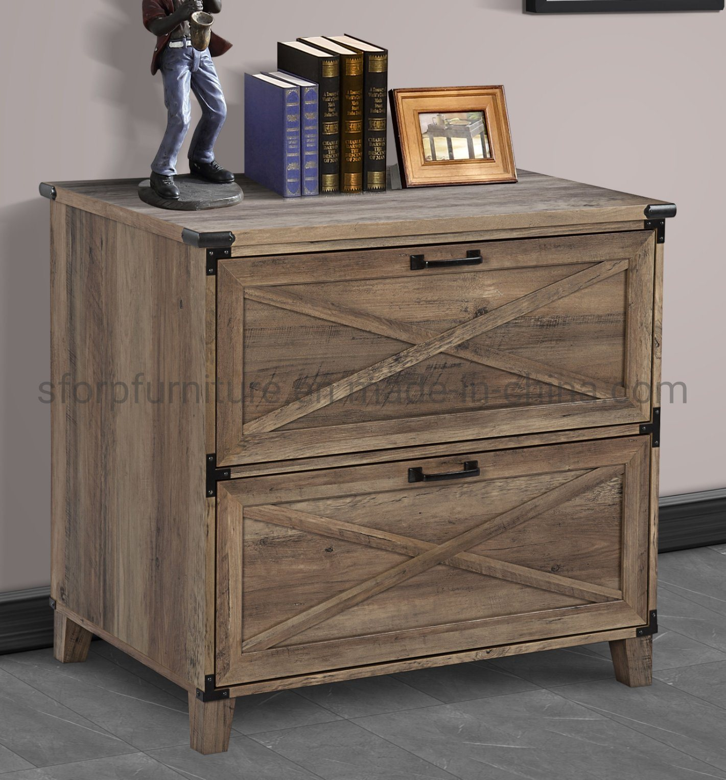 China Home Office Furniture Wooden Rustic Oak Color 2 Drawer Lateral Filing Cabinet China Drawer Lateral Filing Cabinet Office Furniture Drawer Lateral Filing Cabinet