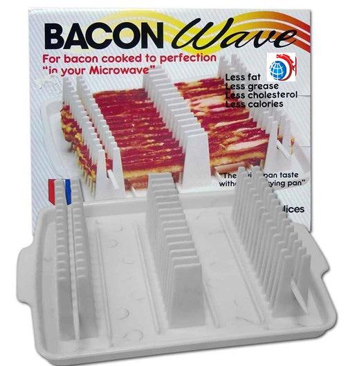 china bacon wave microwave bacon tray
