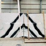 China Polished Panda White Marble Granite For Floor Wall Tiles Slab Kitchen Bathroom Countertop Vanity Tops China Marble For Tile Marble Stone Tile