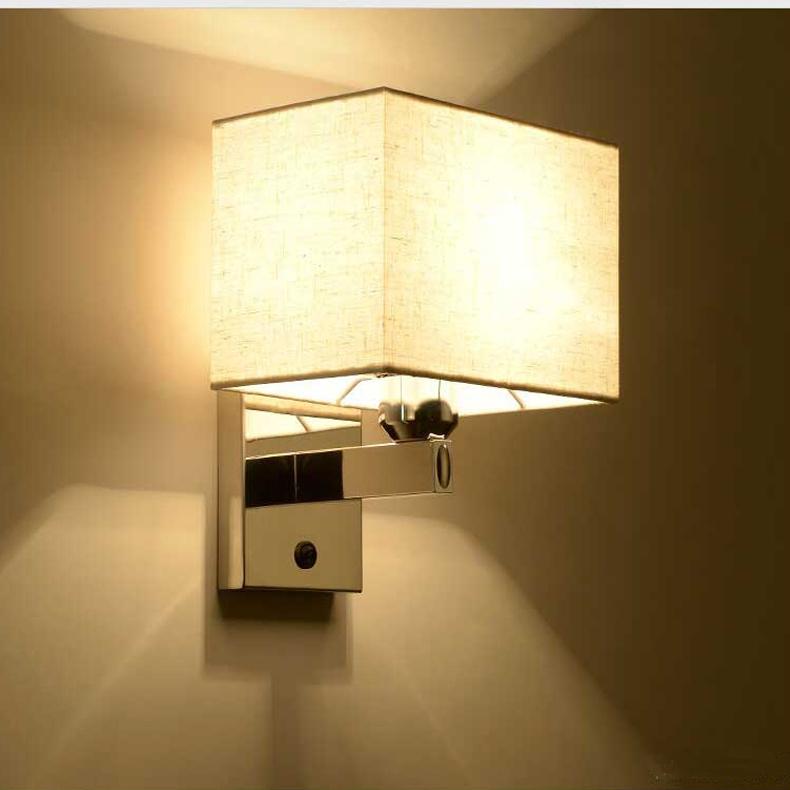 china 1 light modern chrome bedside