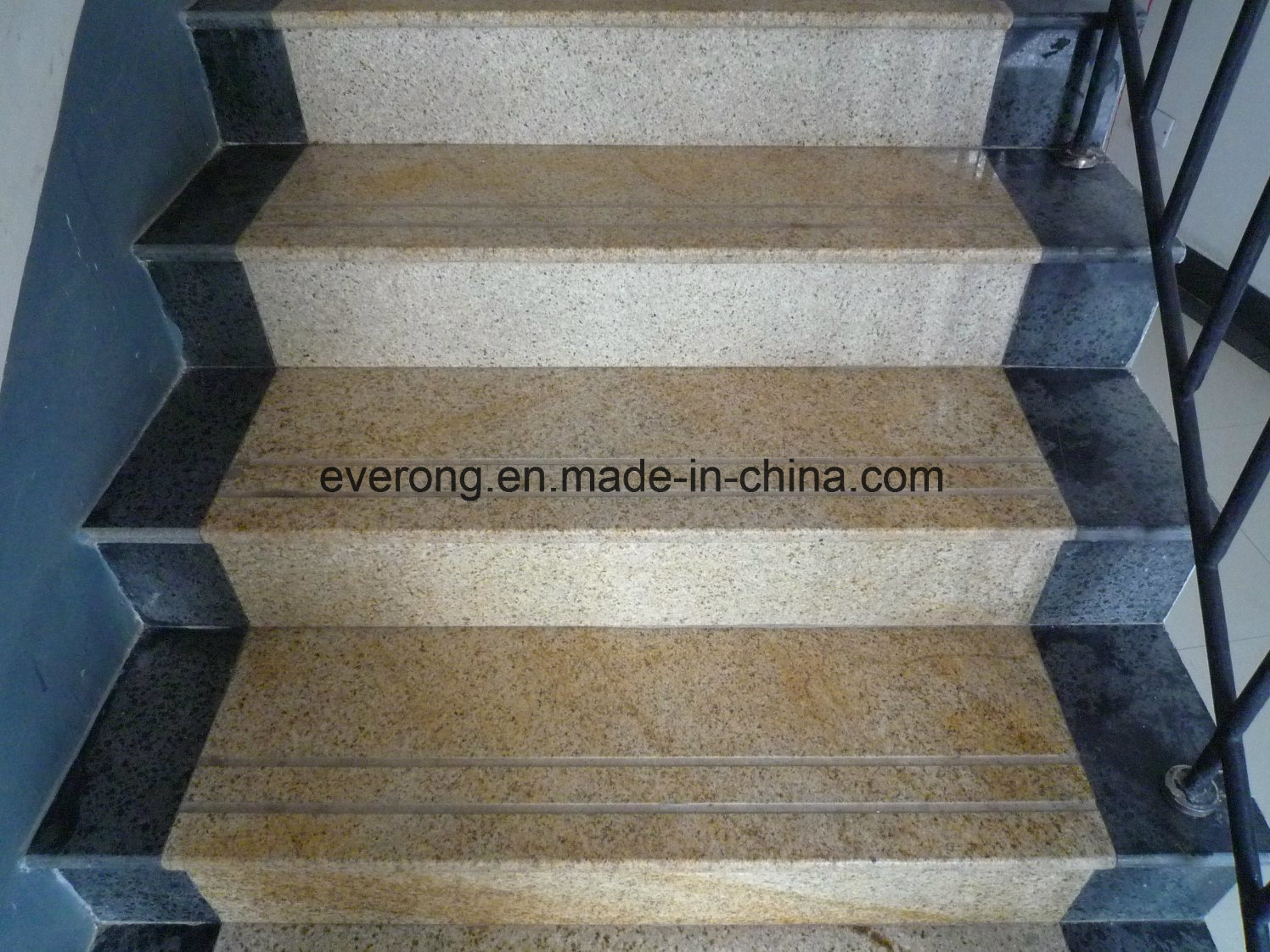 China Mixed Color Granite Design Tile Full Polished Glazed Step | Granite Design For Stairs | Floor | Front Wall | Bedroom | Grenite Pathar | Sunny
