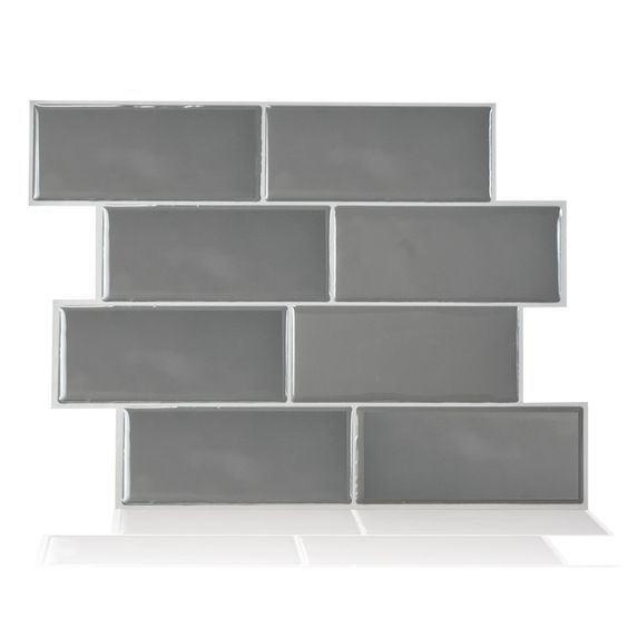 hot item manufacturer direct wholesale vinyl tiles peel stick backsplash wall sticker kitchen bathroom diy wall tiles