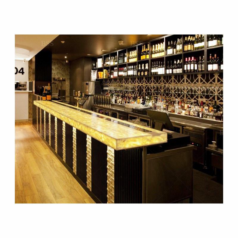 led drink bar counter