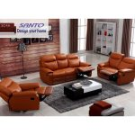 Hot Item 2019 Living Room Furnitures Contemporary Modern Recliner Sofa Leather Sofa