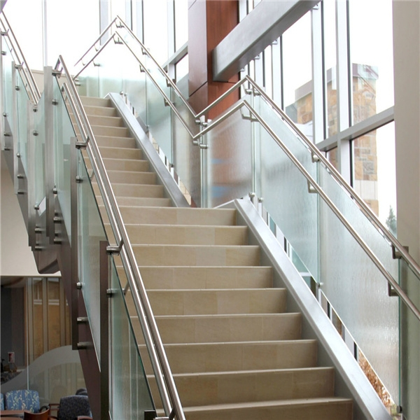 China Stainless Steel Double Flat Bar Post Glass Balustrade For   Flat Handrail For Stairs   Code Compliant   Stainless Steel Flat Bar   Type 2   Top   Flat Iron
