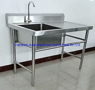 china commerical stainless steel sink