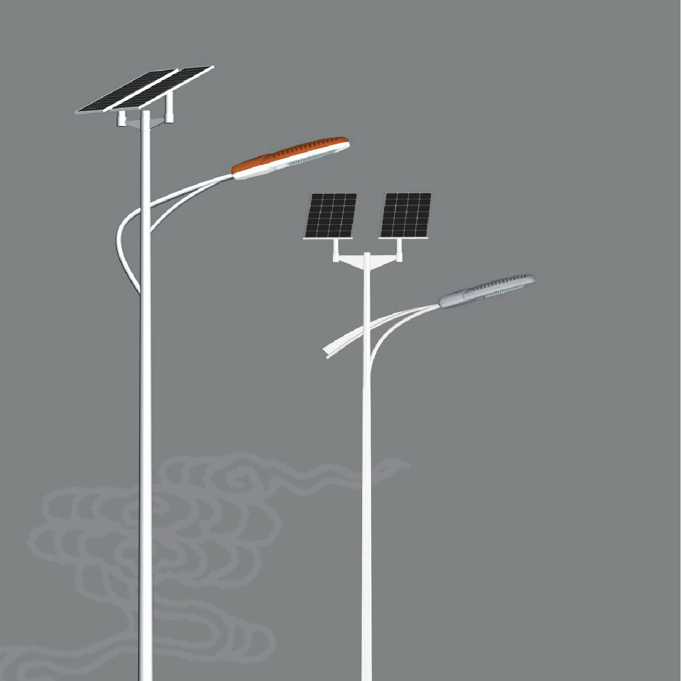 China Led Solar Street Light 30w 6m Pole Stl