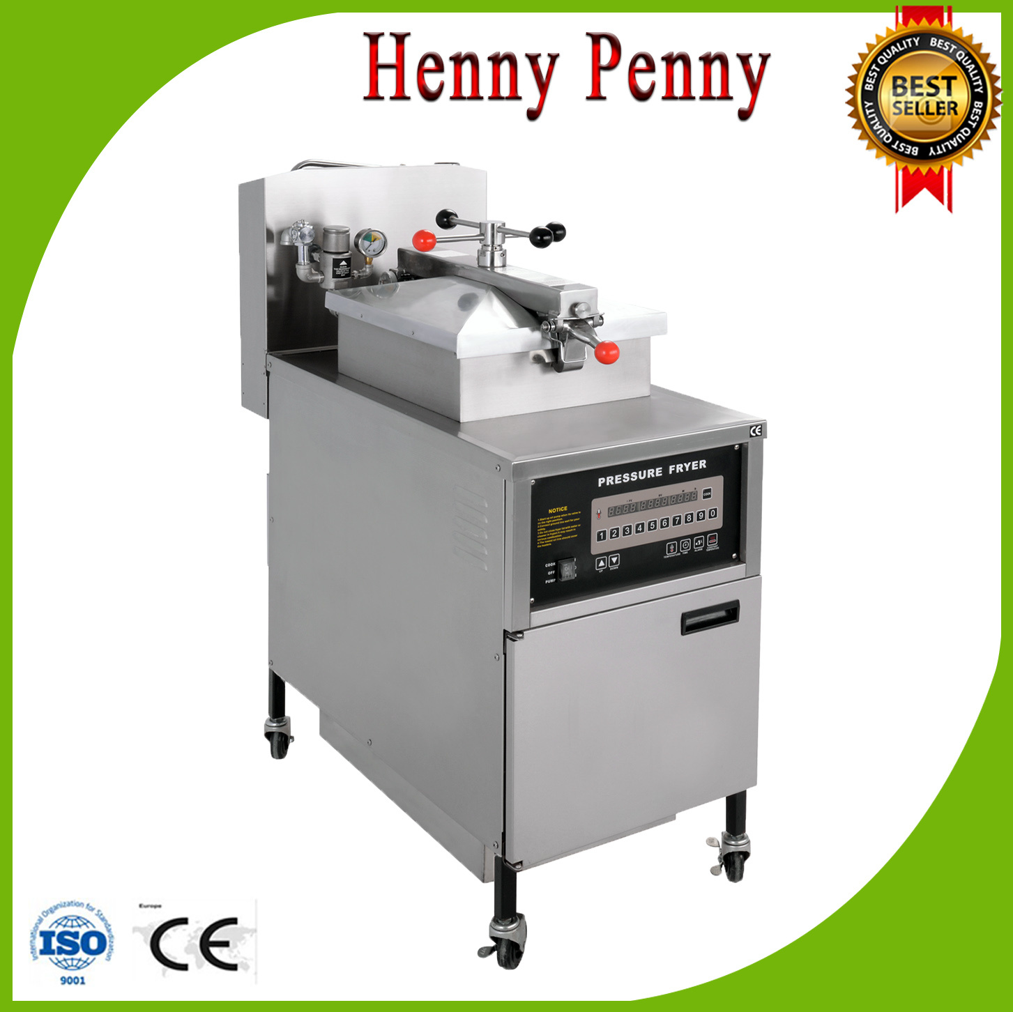 China Pfe 600 Ce Iso Automatic Henny Penny Pressure Fryer