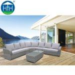 China 2019 Big Lots Outdoor Rattan Furniture Extra Large Sectional Sofa Set Patio Garden China Modular Wicker Sofa Outdoor Modular Sofa