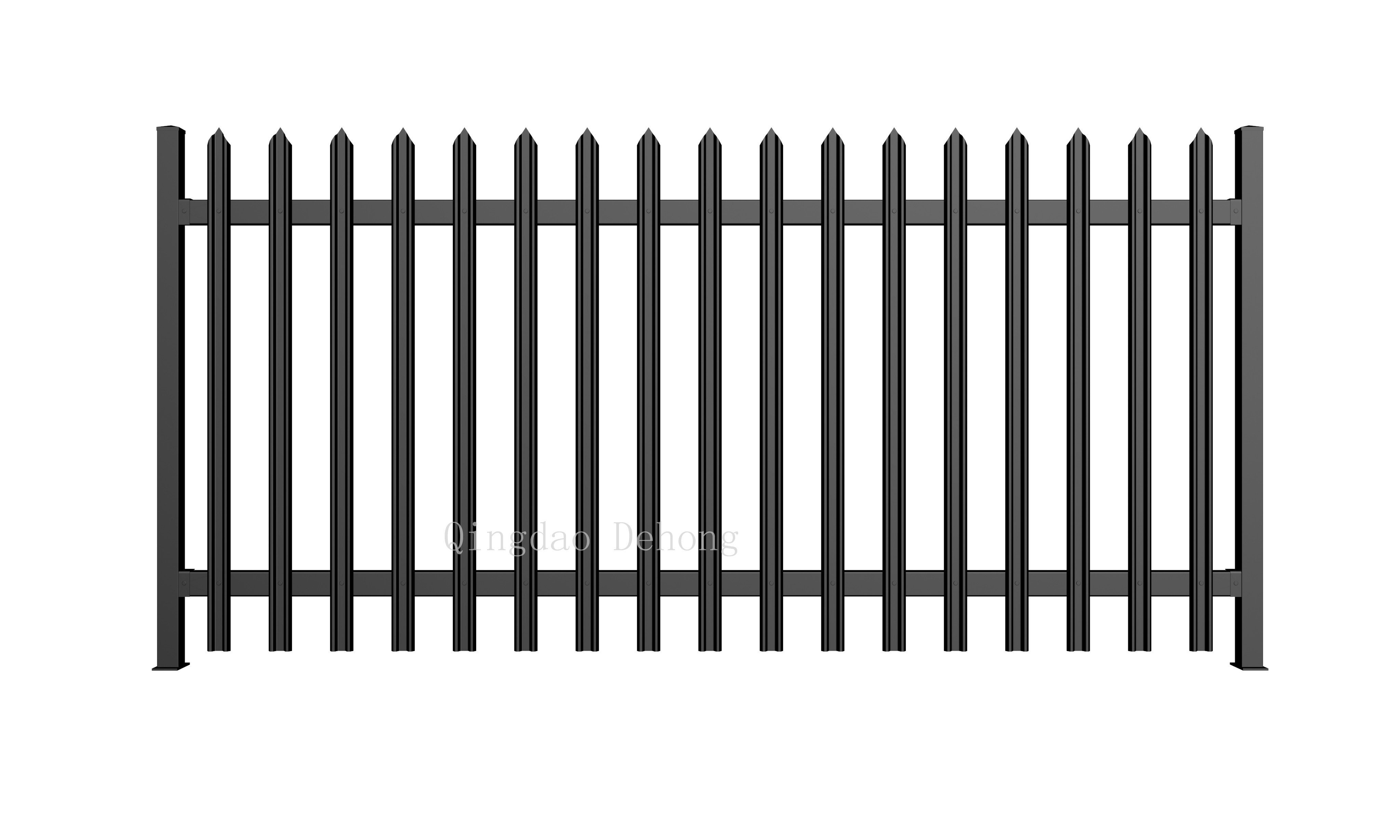 China High Quality Wrought Iron Fences China Ornamental Farm Security Fences Hot Selling Metal Fence