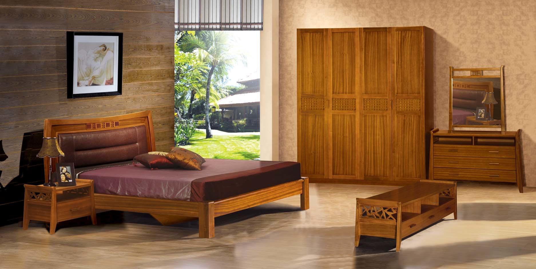 Dark Teak Bedroom Furniture Novocom Top