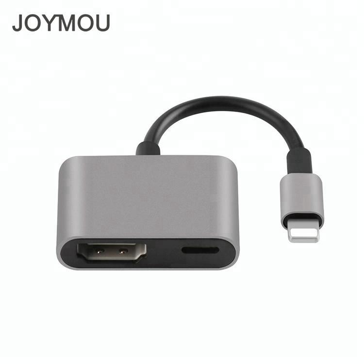 hot item connect iphone ipad to tv splitter apple lightning to hdmi lightning digital av adapter cable