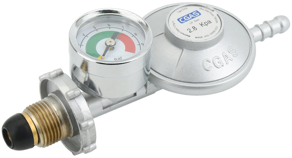 China LPG Low Pressure Gas Regulator With Gauge (C31G58U30