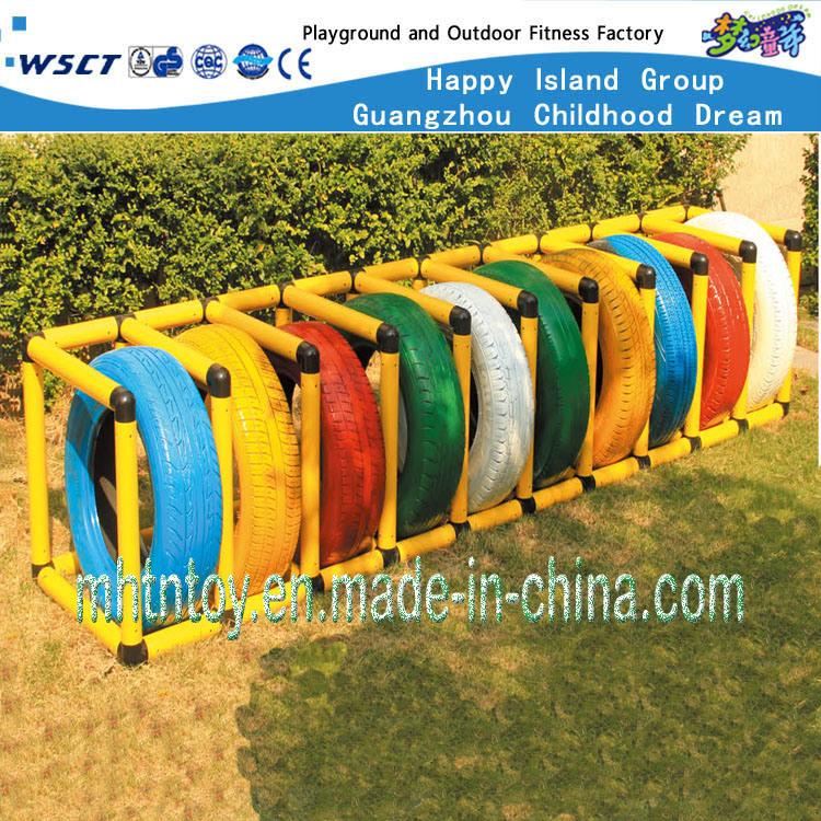 china children play toy tire rack