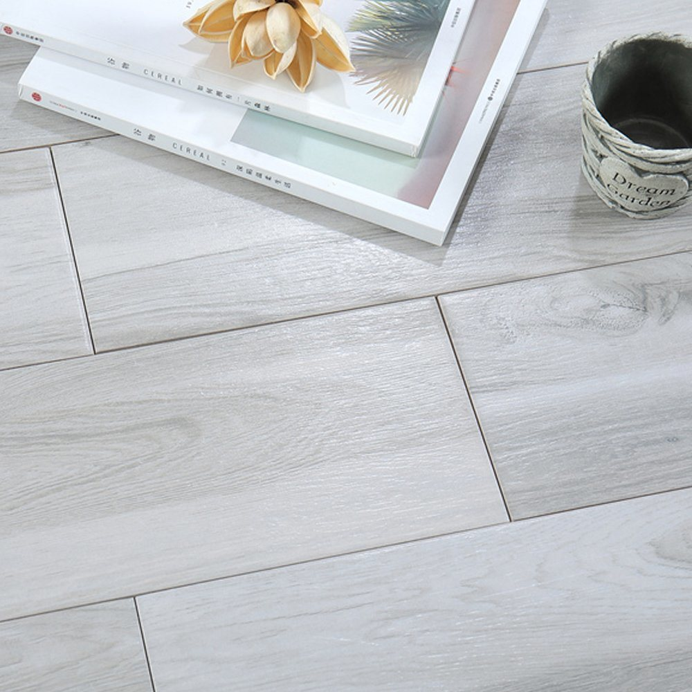 wall decor wooden look gray wood tile