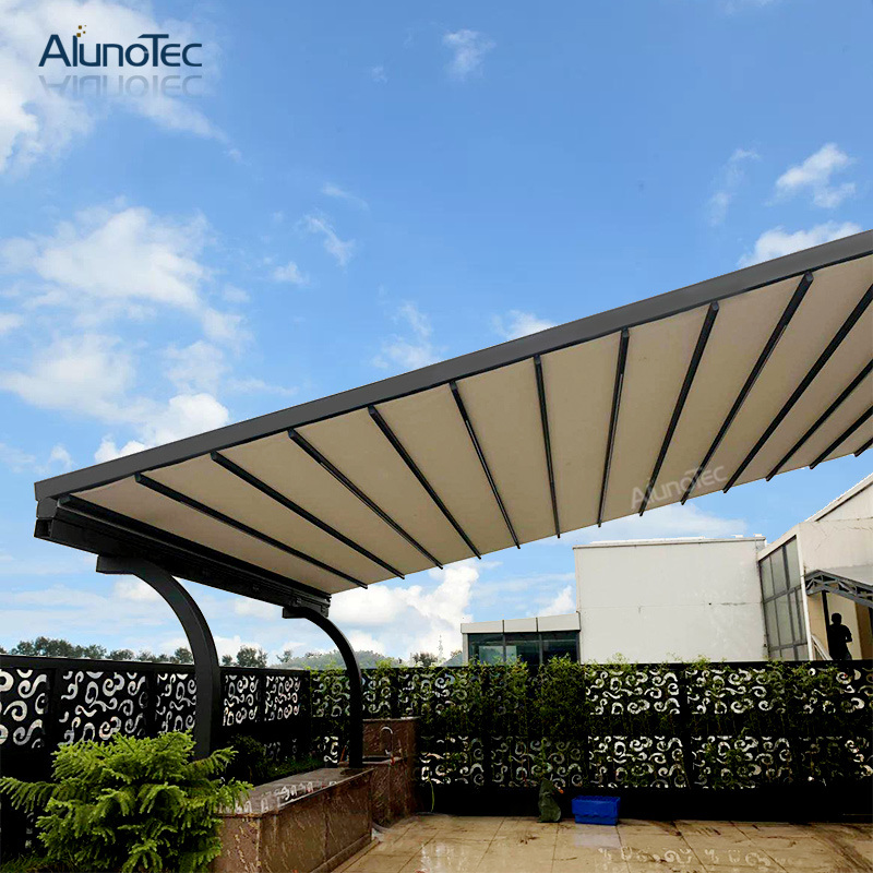 china customize outdoor sliding roof