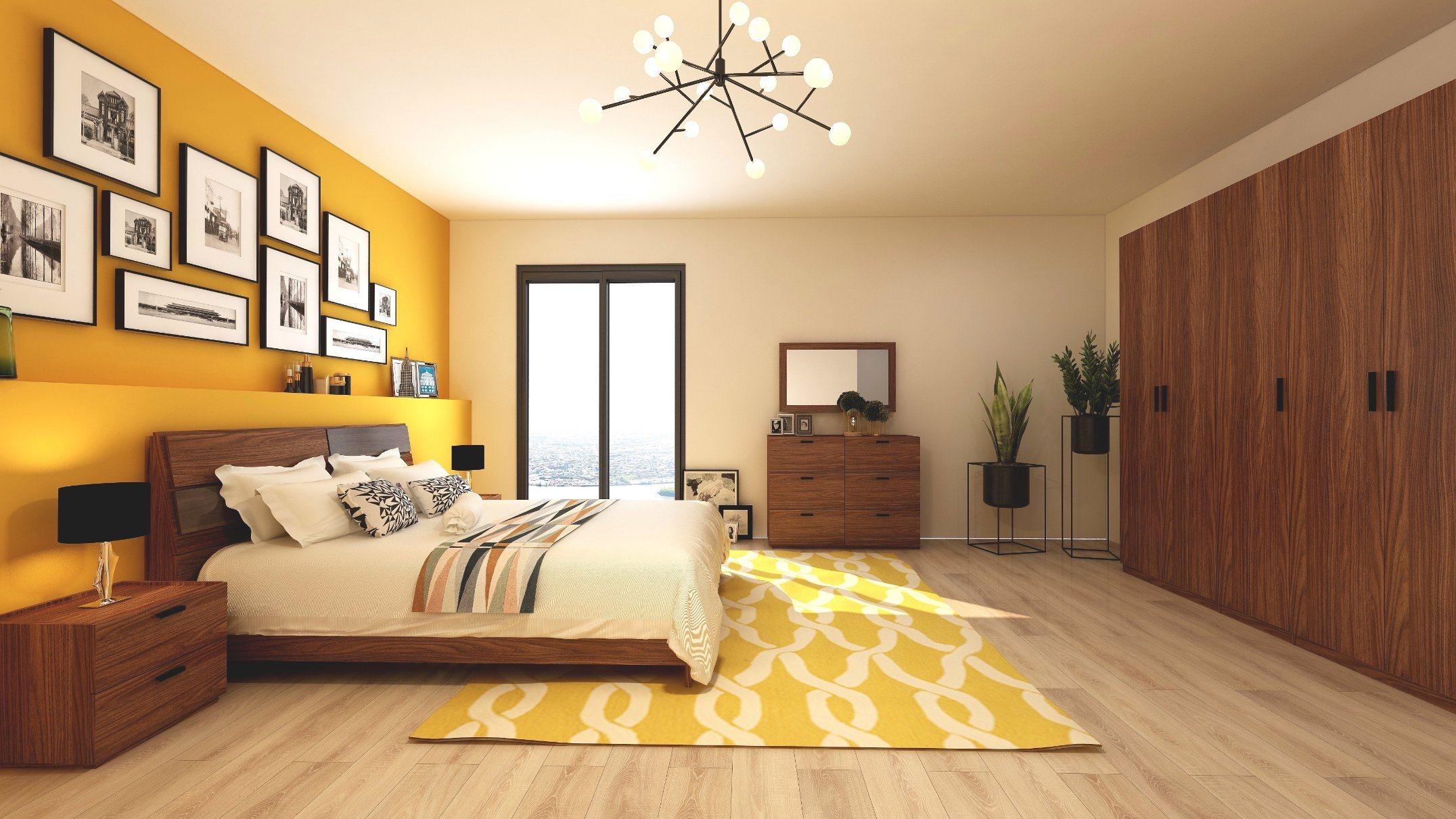 hot item dark walnut wooden home bedroom furniture bedroom set