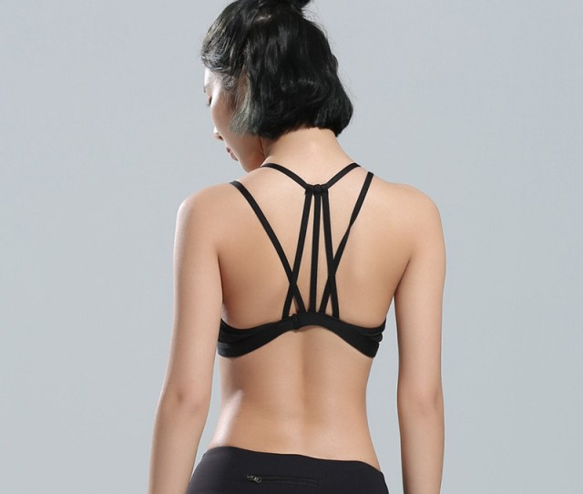China Custom Fitness Seamless Ladies Padded Nude Yoga Tube Wholesale Hot Sexy Womens Sports Bra China Women Sportswear Yoga Bra