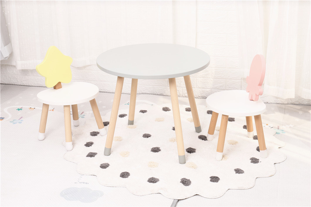 China Ocean Series Baby Toddler Table Set Cute Design Kids Play Table And Chair China Kindergarten Table And Chair Modern Children Home Furniture