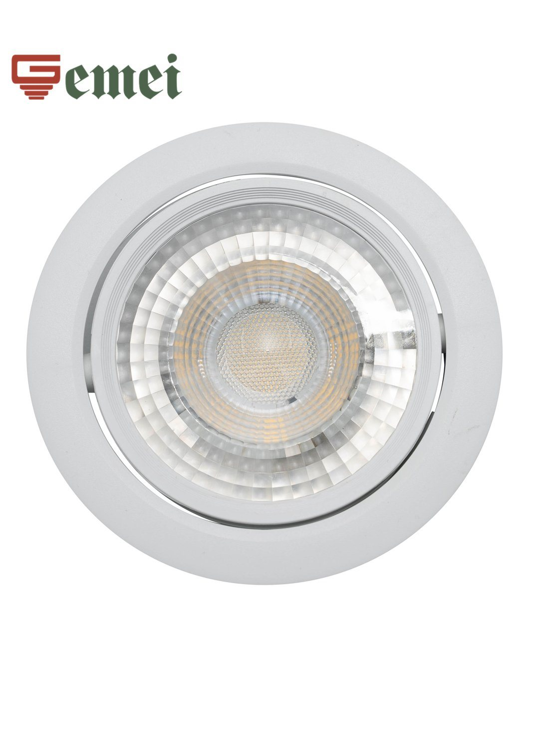hot item led round white modern ceiling spot lighting recessed downlight adjustable light with ce rohs