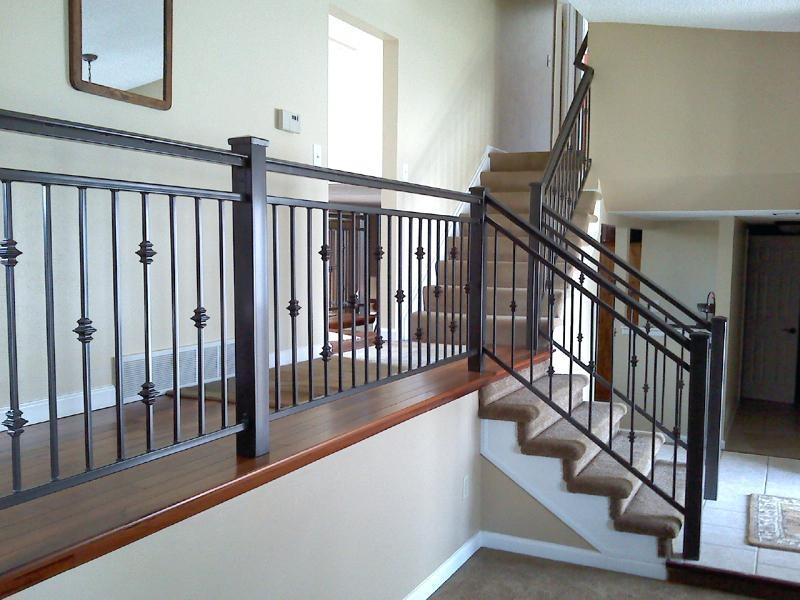 China Prefabricated Villa Customized Metal Handrail Modern Wrought | Contemporary Wrought Iron Railings | Victorian | Stainless Steel | Glass | Wood | Decorative