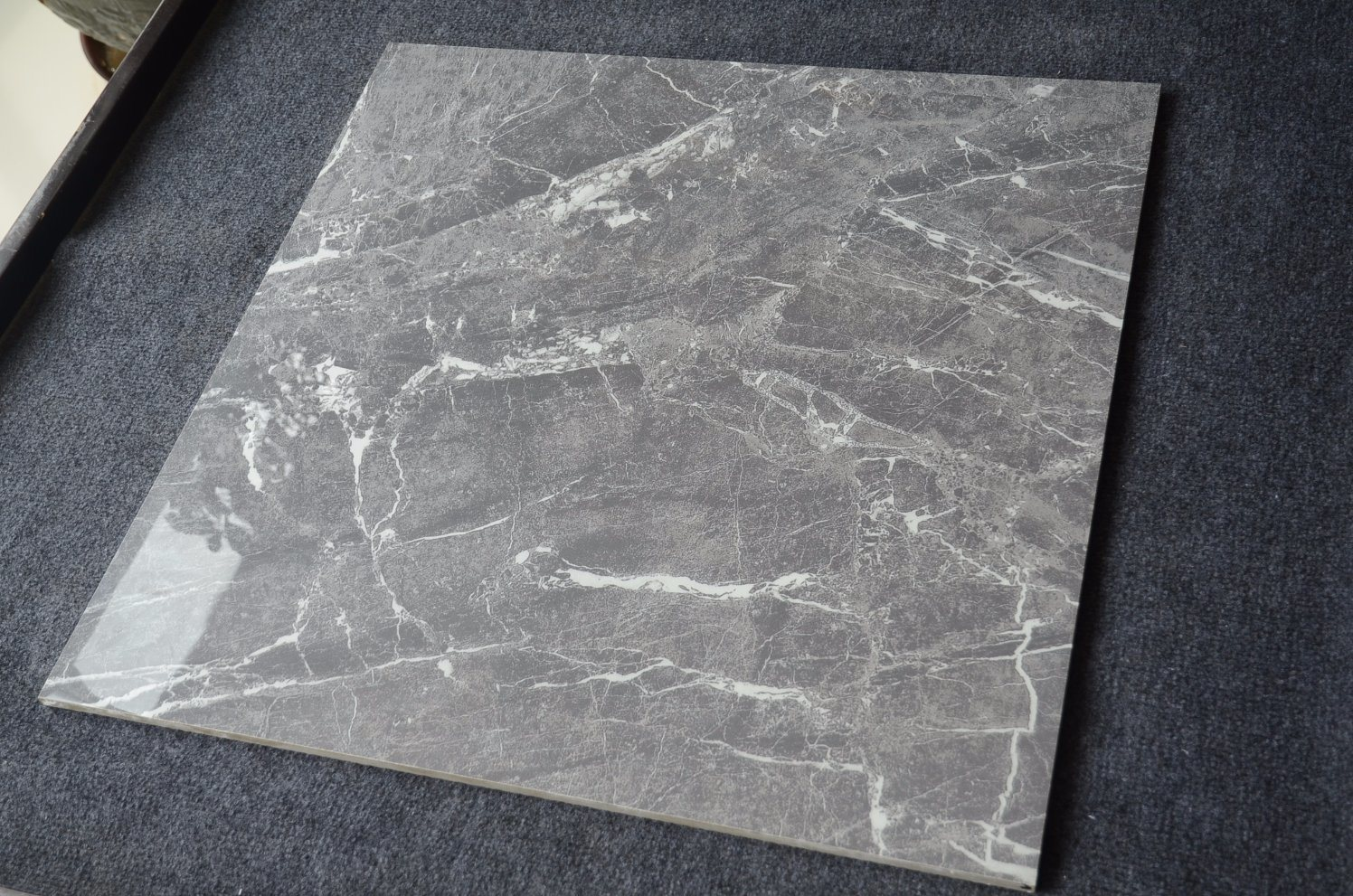 China Glazed Brick Sunny Gray Marble 16X16 Biltmore Grey