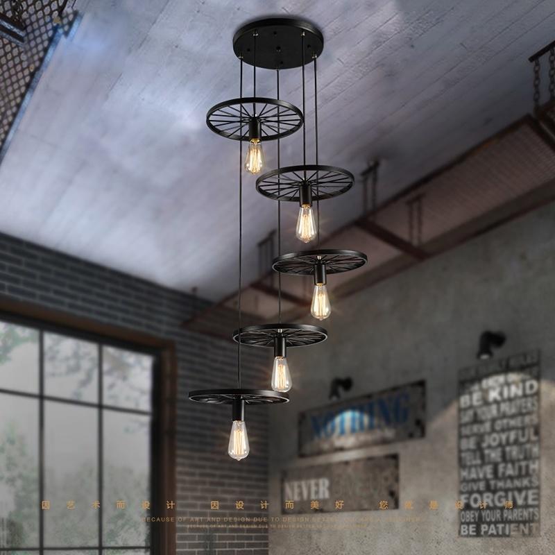 china black loft style industrial