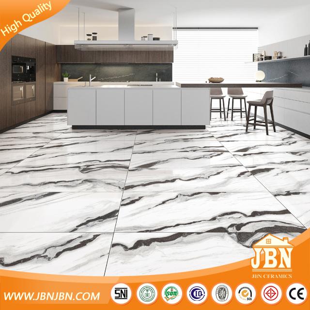 hot item full super white body marble vein porcelain floor tile