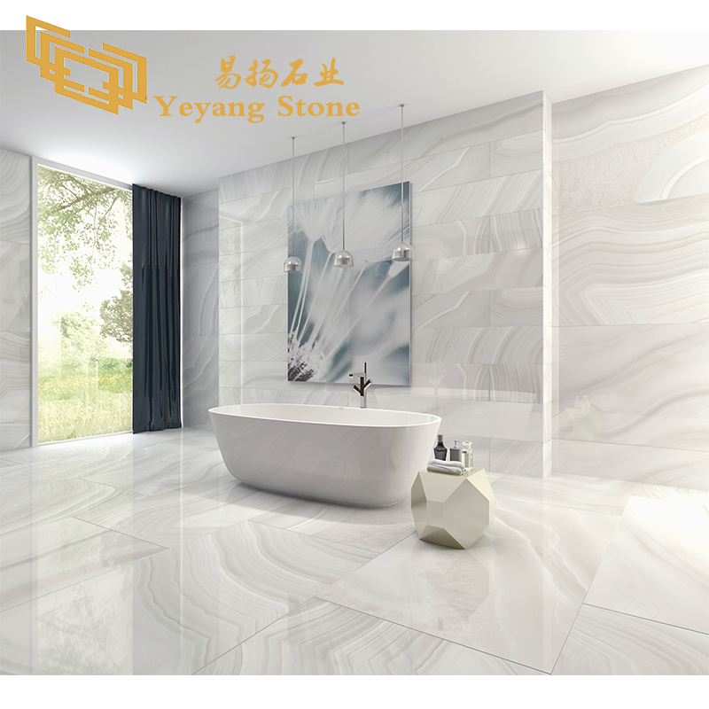 china snow white onyx stone artificial