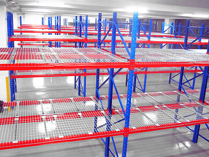 hot item wire decking for pallet racking