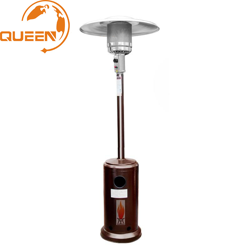 hot item hot sell glass tube pyramid outdoor tabletop patio gas heater garden gas flame heater