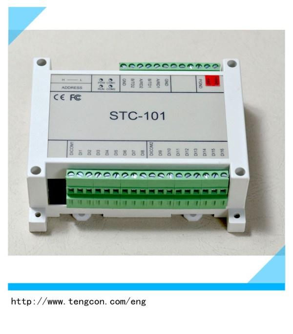 China DC12V/24V Pulse Input Io Module RS485 Modbus RTU ...