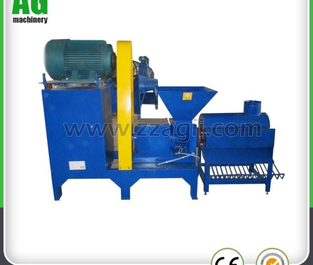 Advanced Technology Briquetting Press Machine Ce Approved Wood Briquette Machine