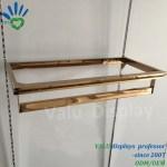 Hot Item U Shaped Hanging Rail Shelf Support Bracket For Clothes Hanging