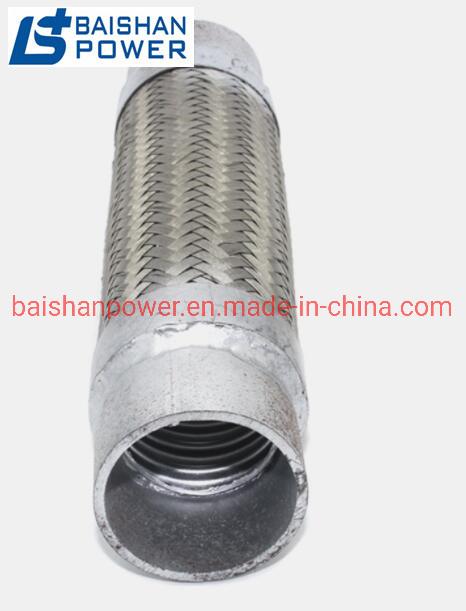 hot item mtu volvo diesel generator engine exhaust bellow diesel engine chimney silencer silencer air exhaust pipe soft connection 3 inch flexible