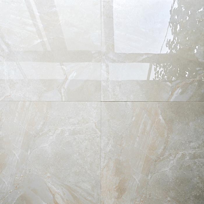 china 600x600mm pure white hand painted