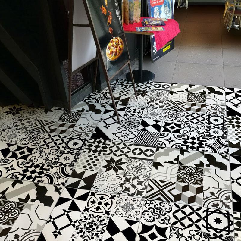 hot item home decor 8x8 flower feature wall ceramic decorative floor tiles