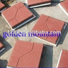 hot item golden mountain quality hydraulic concrete tile pressing machine