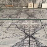 China Natural Stone Ice Jade Purple White Jade Marble Slab For Countertop Vanity Top China Floor Tile Marble Tile