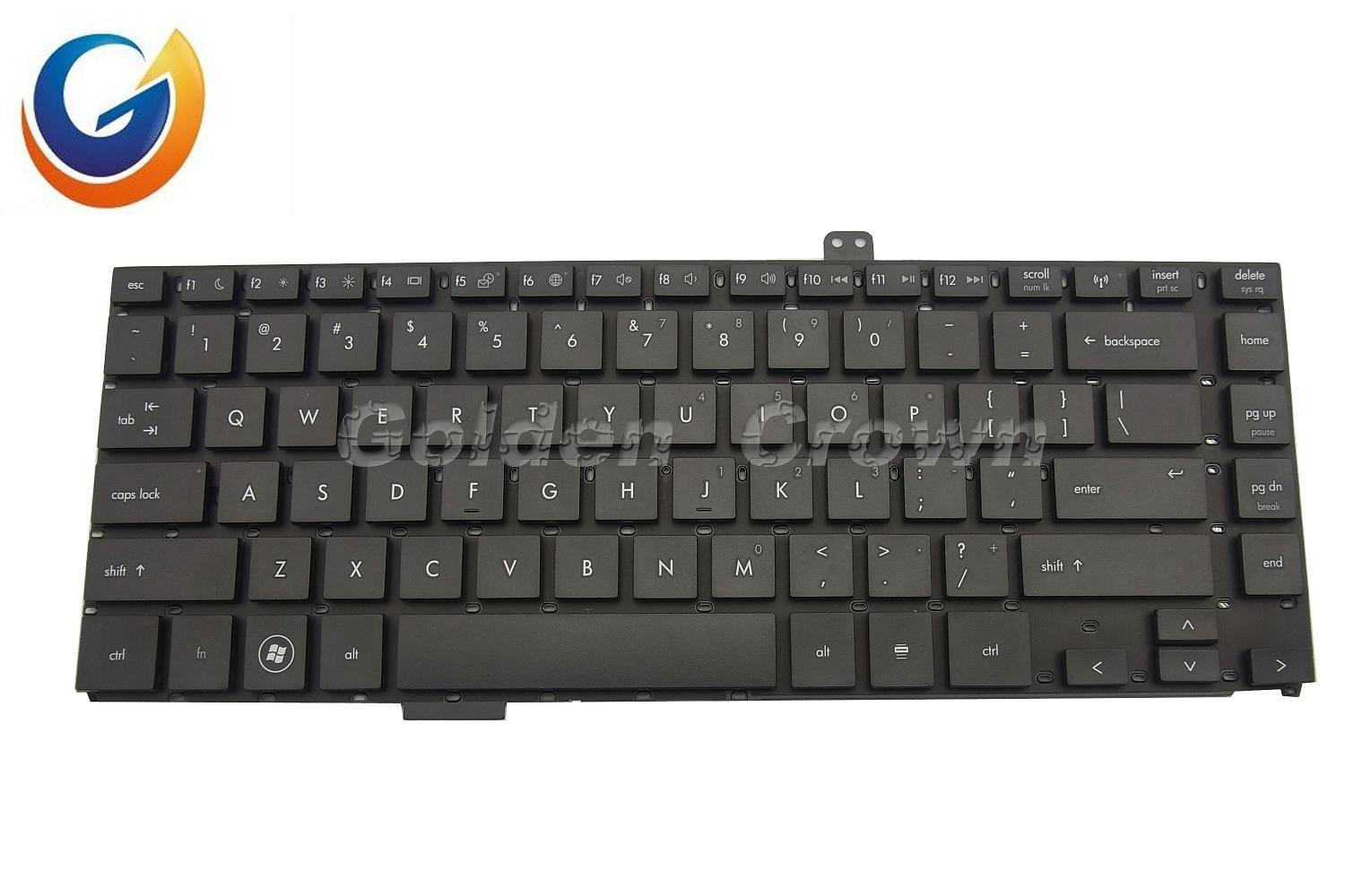 Laptop Keyboard For Hp Black Without Frame Us Layout