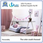 China 2019 House Living Room Kid S Bed High Quality Solid Wooden Girls Bedroom Furniture Kids Tree House Bunk Bed White Color China Wooden Bed Kid S Bed