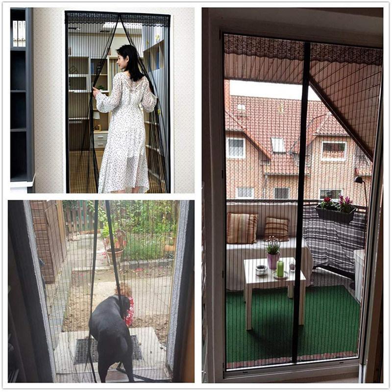 hot item 2020 new design magnetic door screen curtain fly mosquito net door
