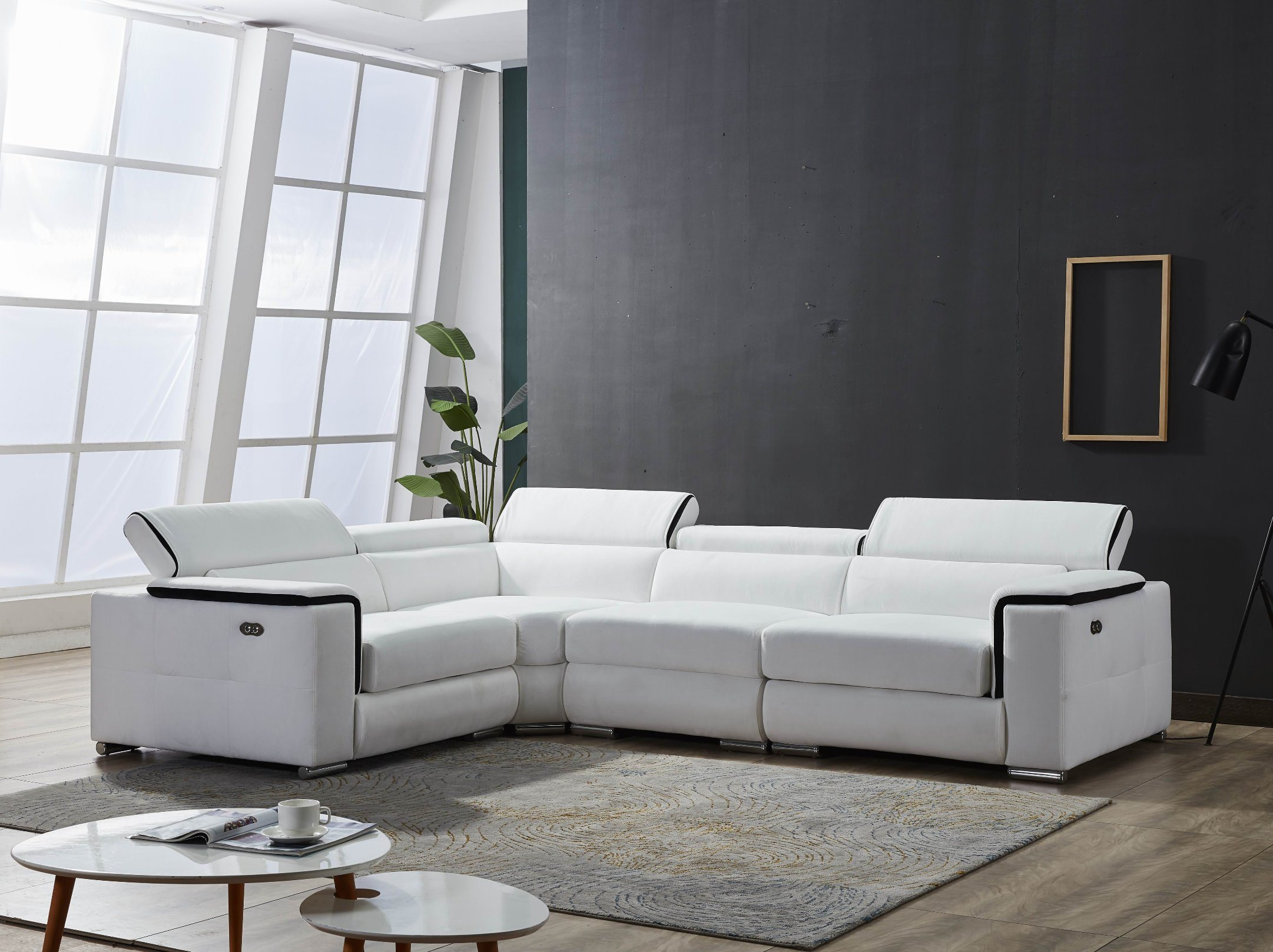 Hot Item Contemporary Design Fabric Sofa Furniture Sofa Contemporary Italian Style European Style Furniture