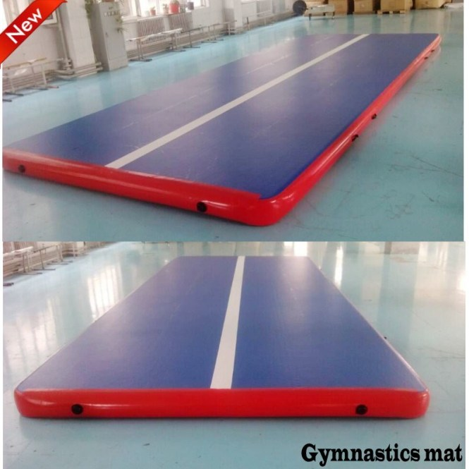 China High Quality Drop Sch Inflatable Gym Mattress For Gymnastics Training Mat