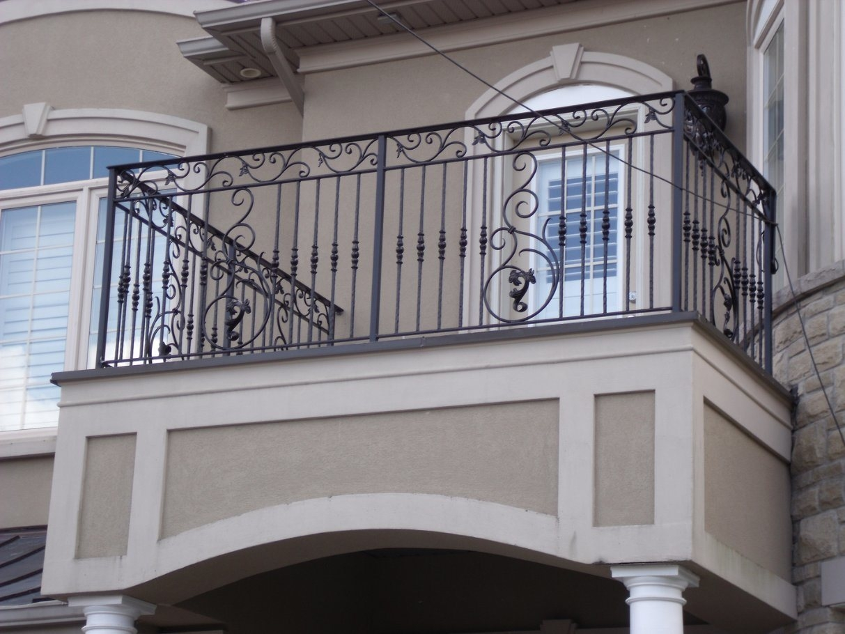 China Qingdao Factory Customized Outdoor Wrought Iron Hand Stair | Wrought Iron Hand Railings For Outdoor Stairs | Indoor | Colonial | Cast Iron | Interior | Bronze