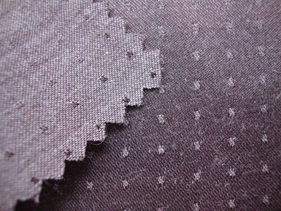 Dobby Polyester Cotton Brushed Fabric