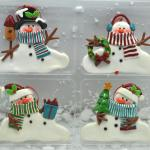 China Snowmans Polymer Clay Christmas Tree Ornaments Wholesale China Christmas Tree Ornament And Christmas Gifts Price