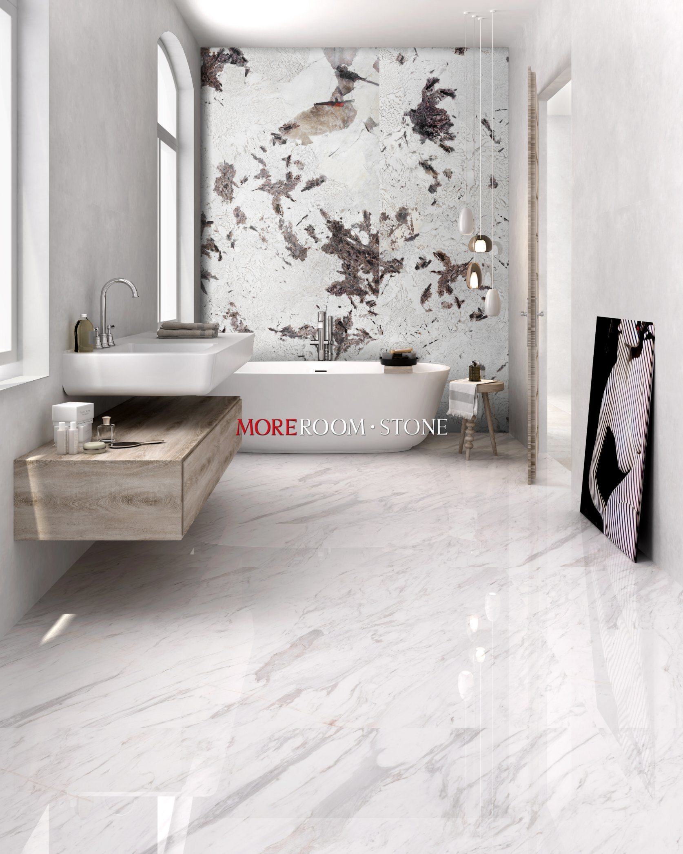 china luxury shower wall porcelain slab