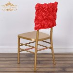 Hot Item Elastic Flower Wedding Chair Cover Sashes Party Banquet Decoration